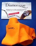 """Салфетка для чистки изделий из золота """"Diamonique"""" 1шт"""