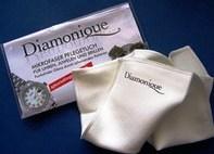 """Салфетки для чистки ювелирных изделий с бриллиантами, жемчугом и д.р """"Diamonique""""1шт"""