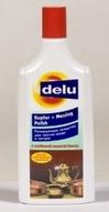 """Средство """"DELU""""для чистки и полировки изделий из меди и латуни """"DELU"""" 250мл"""