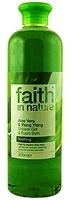 """Гель пена для душа и ванны 400мл """"faith in nature"""" с Алоэ Вера"""