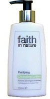"""Лосьон для лица """"faith in nature""""очищающий 150мл"""