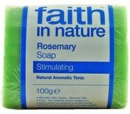 """Натуральное тонизирующее мыло с экстрактом листьев Розмарина """"faith in nature"""" брусок 100гр"""