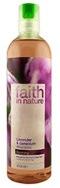 """Натуральный востанавливающий шампунь """"faith in nature"""" с эфирными маслами Лаванды и Герани 400мл"""
