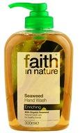 """Натуральное питательное жидкое мыло """"faith in nature""""с Морскими водорослями 300мл."""